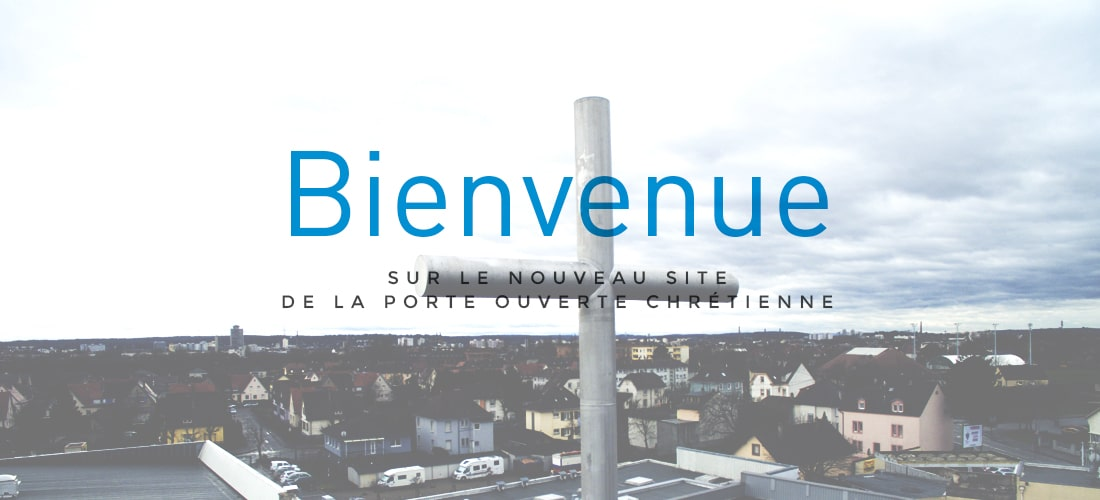 Slide Accueil – Bienvenue