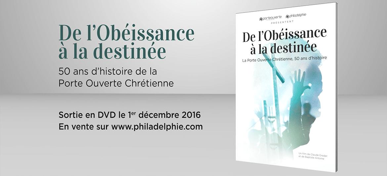Sortie du film documentaire sur l'histoire de l'église : «De l'obéissance à la destinée».