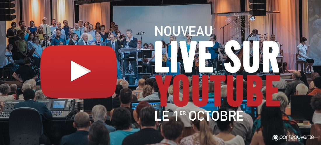 LIVE SUR YOUTUBE